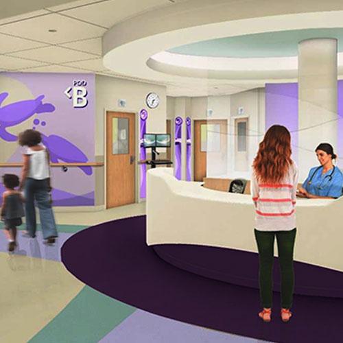 Hasbro Children's Hospital Renovations Underway